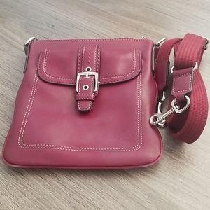 EUC soft leather Coach crossbody bag